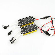 2X USA CCFL HALO RING DEVIL ANGEL EYES LIGHT INVERTERS BALLAST REPLACEMENT 12V