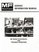 Massey Ferguson MF-750 760 850 860 700 800 Combine Electrical Service Manual