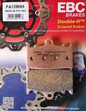 Ebc/fa158hh sinterizado Pastillas De Freno (delantero) - Suzuki gsx650f, Sv1000 (S), gsx1250fa