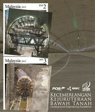 Malaysia 2011 Underground Engineering Excellence ~ MS mint