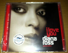 DIANA ROSS I Love You CD w/BONUS DVD w/ BRIAN MAY QUEEN