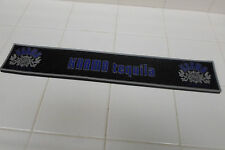 KARMA TEQUILA Tequila Rubber Bar Rail Spill Mat New Barware - NEW/SEALED
