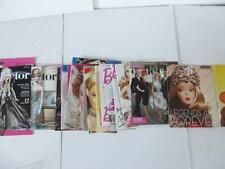 Barbie Collector Magazine Lot 24 near mint 2004-2011 catalogs Jazz Baby Batgirl