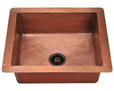 904 Single Bowl Copper Sink