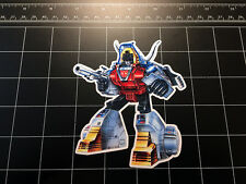 Transformers G1 Slag box art vinyl decal sticker Autobot dinobots 1980's 80s