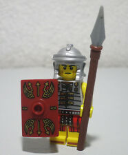 Roman Soldier Series 6 Shield Spear LEGO Minifigure Mini Figure Fig