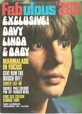 FABULOUS 208 UK magazine 20-Sept-1969 Monkees, Georgie Fame, Bee Gees, Dave Dee
