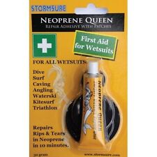 STORMSURE NEOPRENE QUEEN WETSUIT WADER REPAIR KIT GLUE ADHESIVE WITH 5 PATCHES