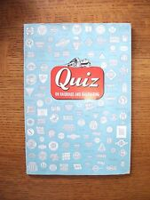 1950 Quiz on Railroads and Railroading 7th Edition Booklet c