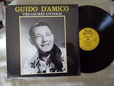 GUIDO D'AMICO - Treasures Untold, 1980 LP, Owch Records, rock-a-billy, rare gem