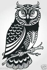 "OWL sticker decal car window vinyl Laptop Tribal Girl Love Owl 7"" Truck Fun"