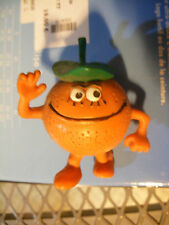 RARE Figurine  PVC comics spain Les fruittis fruttas Fruttis  Orange