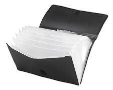 Texet B25425 Executive A4 File Folder|Document Bag with Velcro Closure