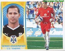 01 SERGIO ARAGONESES ESPANA CD.TENERIFE STICKER ESTE LIGA 2010 PANINI