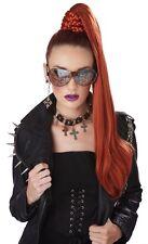 W215 Dominatrix Ponytail Clip On Women Costume Movie Star Celebrity Wig