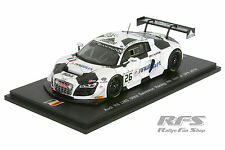 AUDI r8 LMS ultra-ORTELLI - 24 hours of SPA 2014 - 1:43 SPARK sb074