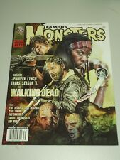 FAMOUS MONSTERS #278 MARCH/APRIL 2015 WALKING DEAD MOVIELAND CLASSIC US MAGAZINE