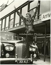 Juliet Prowse, Hallo London! Original-Photo von 1969