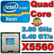 Intel ® Xeon ® X5560 CPU 2,80 GHz 8 MB a 6,40 GT / S LGA1366 4 Quad Core Processor slbf4 $$