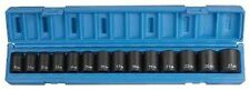 "Grey Pneumatic (1412M) 1/2"" Dr 10MM To 27MM 14pcs Impact Socket Set"