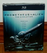 PROMETHETHUS TO ALIEN-THE EVOLUTION-5 BLU-RAY-NUEVO-PRECINTADO-CIENCIA FICCION