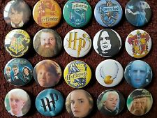 Harry Potter Button Badges x 20. Pins. Job lot. Wholesale. Collector. Bargain.