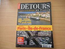 DÉTOURS EN FRANCE - PARIS et ÎLE DE FRANCE. MARS 2004. N° 88