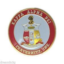 """G1345 - Kappa Alpha Psi Aluminum Car Emblem 2 3/4"""""""