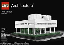 Lego Architecture Villa Savoye Building Toys Lego Architecture Sets New Sealed
