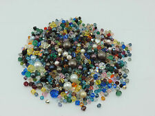 SWAROVSKI Crystal Bead Assortment, Approx. One Thousand Beads PENNIES PER BEAD!