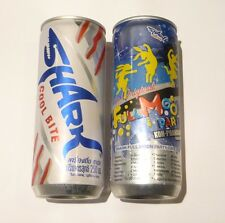 SHARK Energy Drink can THAILAND Tall 250ml Promo 2014 FULL MOON PARTY Collect