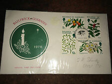 GB Stamps - QEII - Bailiwick of Guernsey First Day Cover 1978