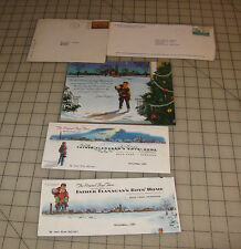 1960s BOYS TOWN Nebraska Christmas Greeting Donation Request Letters/Card