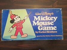 Walt Disney's Mickey Mouse Parker Brothers #161 Board Game 1976
