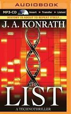 The List by J. A. Konrath (2015, MP3 CD, Unabridged)