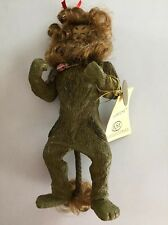 SOLD AS IS~W5813 NIB Kurt Adler Fabriche Wizard of Oz Cowardly Lion Figure