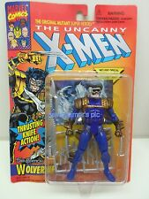 X-Men Uncanny Series ToyBiz 1996 5th Edition WOLVERINE Blue Action figure Sealed