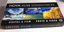 Hoya 58mm Digital Filter Kit UV + CPL Circular Polarizer PL + Warming Warm Set