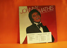 JOHNNY MATHIS - HOLD ME, THRILL ME, KISS ME - COLUMBIA DEMO - LP VINYL RECORD -O