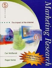 Marketing Research : The Impact of the Internet