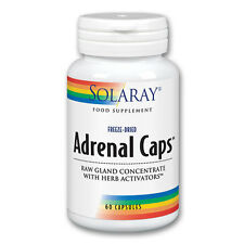 Solaray Adrenal Caps 60 Capsules