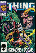 "MARVEL ""THE THING"" COMIC BOOK VOLUME 1 NUMBER 13 JULY 1984"