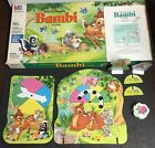 Collectable 1992 Walt Disney 's BAMBI Milton Bradley Family Board Game #4311 3-5
