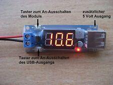 USB-Lader 5 Volt / 2 Ampere für Handy, FPV, GoPro usw.