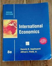 International Economics by Appleyard & Field 8th edition Softcover