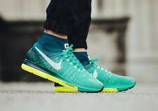 "NIKE ZOOM todos FLYKNIT ""Clear JADE"" OUT Size UK 8.5"