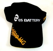 GS Battery Black Baseball Trucker Advertising Hat Embroidered Logo Hook And Loop