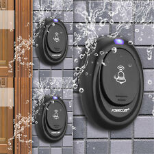 Waterproof 36 Tunes Wireless Plug-in Remote Control 100M Range Smart Doorbell AU
