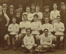 1920 - 1921 Football Team Bournbrook Celtic FC Birmingham RP Postcard 9702