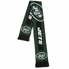 New York Jets Scarf Knit Winter Neck - Double Sided Big Team Logo New 2016